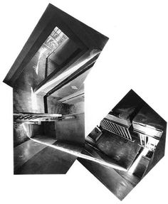 Photo Collage Puzzles made from your own photos. Make a Photo Collage Puzzle from your own pictures. Photomontage, Gordon Matta Clark, Planer Layout, Architecture Drawings, Architecture Graphics, Residential Architecture, New York Art, Installation Art, Contemporary Artists