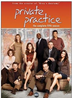 "If you love the always sexy, steamy, and suspenseful medical drama ""Private Practice"" as much as I do then you are in luck! The complete fifth season of Privat Private Practice, Best Tv Shows, Favorite Tv Shows, Favorite Things, Movies Showing, Movies And Tv Shows, Serie Grey's Anatomy, Saga, Addison Montgomery"