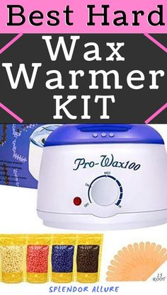 The best wax warmer kit and the most popular hot hard wax warmer heater. Wax warmers are needed every now and then for waxing your skin and make it look clean. Do hair removal or even a full body wax at home with the help of this hard waxing kit, giving your skin a smooth and flawless feel you've always wanted. Learn the simple and easy tips on how to do hair removal using wax warmer kit. Top Skin Care Products, Diy Skin Care, Beauty Products, Makeup Geek, Makeup Tools, Makeup Ideas, Organic Skin Care, Natural Skin Care, Wax Warmer Kit