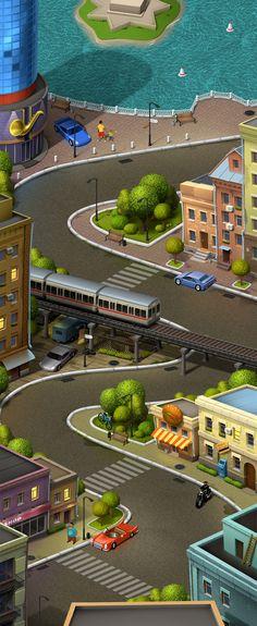 Локация для игры 3 on Behance