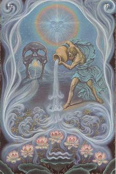 The Zodiac series - Aquarius by Jofra Bosschart 1974