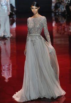 Designer Love│Elie Saab Paris Haute Couture Fashion Week Fall 2013 - Munaluchi Bridal Magazine