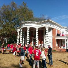 Tailgating at University of Georgia before the game