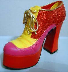 """Just The Right Shoe """"Disco Diva"""" Item # 25371 by Willitts/Artist Raine"""