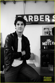 Darren Criss' brand new ad images for The Motley's fragrance Atlas were just released!