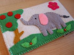iphone case - ipod touch case - cell phone case - ipod case - Handmade Elephant Case. $22.00, via Etsy.