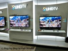 SUHDTV: Vibrant Images in the Samsung Shop at Best Buy #SUHDatBestBuy #Ad