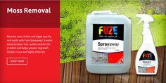 EBAY: http://stores.ebay.co.uk/Fuze-Products/Moss-/_i.html?_fsub=11852249018&_sid=143172298&_trksid=p4634.c0.m322 AMAZON: http://www.amazon.co.uk/gp/aag/main?marketplaceID=A1F83G8C2ARO7P&ie=UTF8&seller=A2C0052U2BURLU FUZE SHOP: http://www.fuze-products.co.uk/catalogsearch/result/?q=sprayaway