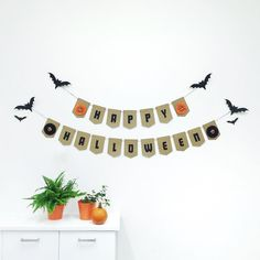 Happy #Halloweekend! Our office is spooktacular thanks to @pristinepaperco. How are you decorating this #Halloween? | #EtsyCA by etsyca