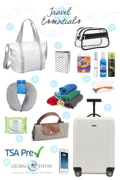Travel essentials carry-on packing tips cruising ideas and h Carry On Packing, Packing Tips For Travel, Travel Essentials, Travel Bag, Travel Style, Packing Checklist, Packing Ideas, Travelling Tips, Travel Info