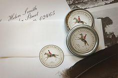Equestrian Correspondence Seal by Felix Doolittle
