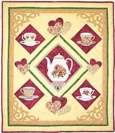 Cup of Tea Quilt Pattern