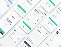 Page Design, Ui Design, App Ui, Car Insurance, Mobile App, Ios, Behance, Profile, Gallery