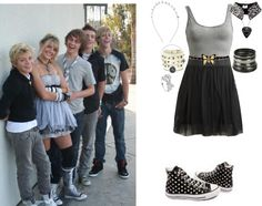 """If I Were In R5 180"" by jordybell ❤ liked on Polyvore"