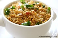 Masoor Dal Pulao - another version of the red lentil rice I tried April 2012 - try this one too!