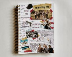 Bullet Journal Aesthetic, Bullet Journal Art, Book Journal, Journal Layout, Book Layout, Movie Collage, Bujo, Aesthetic Movies, Cute Journals