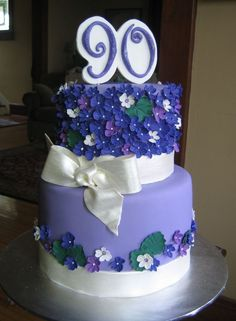 90th birthday cake Trista Pinterest 90th birthday cakes 90