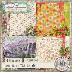 Faeries in the Garden Stackers