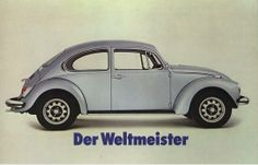 VW typ 135 Weltmeister 1972