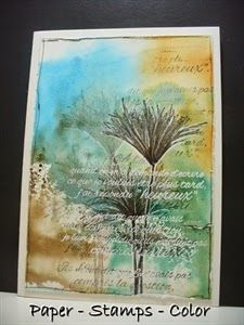 papyrus, magenta, PAPER - STAMPS - COLOR
