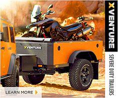Schutt Industries XVenture Trailer. One word, AMAZING.