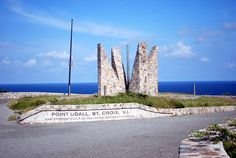 Point Udall on the East End of the Island, St. Croix USVI