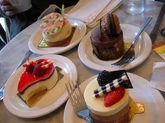 (1)Paris cuisine(2)a fine and delicious dessert(3)france has one and some of the best desserts in the world(4)Caleb