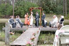 Fall, country, outdoor wedding in Florida. Cleopatra Photography