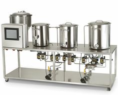 """The Professional Microbrewery If you woke up this morning and said to yourself, """"Screw my job, I'm quitting to start my own brewery,"""" you could be in business sooner than you ever imagined. This automated, computer-controlled brewing system includes everything needed to transform you from a job-quitter to a professional brewmeister overnight."""
