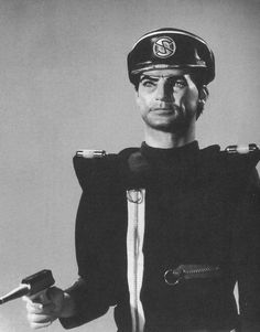 "The coolest villain in the world ever, Captain Black ""We know you can hear us earthmen. Ufo Tv Series, Best Series, Scarlet, Joe 90, Thunderbirds Are Go, Stingrays, Sci Fi Tv, Those Were The Days, Kids Tv"