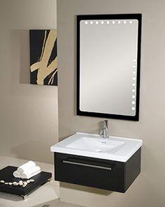 """27.7"""" Nameeks Iotti Fly FL4 Bathroom Vanity #BathroomRemodel #BlondyBathHome #BathroomVanity  #ModernVanity"""
