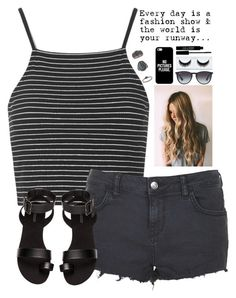 """""""Untitled #238"""" by laynie1026 ❤ liked on Polyvore featuring Topshop, H&M, Ray-Ban, Casetify and Lord & Berry"""