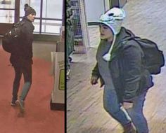 The 2 subjects in beanies are wanted in an investigation in McDonel Hall at Michigan State University, according to a May 22 MSUPD Facebook post.