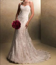 custom Custom Charming lace wedding dress the new by Bestprom, $189.00