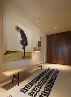 Western Design and Eastern Lifestyle Interplay in a Family Apartment in China . Photo by Xiaowen Jin (InGallery).