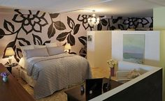 Casual Contemporary Bedroom by Anastasia Faiella Boy Girl Room, Little Girl Rooms, Bedroom Loft, Bedroom Wall, Interior And Exterior, Interior Design, Bedroom Photos, Contemporary Bedroom, Beautiful Bedrooms