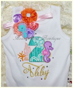 Girls embroidered  Number shirt, Girls embroidered T shirt,Toddler top, Birthday shirt $25.99