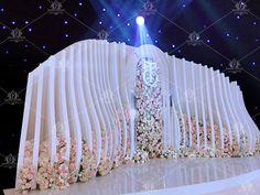 Reception Stage Decor, Wedding Reception Backdrop, Wedding Stage Decorations, Bridal Shower Decorations, Wedding Centerpieces, Wedding Backdrop Design, Wedding Stage Design, Red Rose Wedding, Luxury Wedding Decor