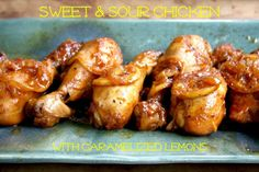Easy Sweet and Sour Chicken Drumsticks - Crosby's Molasses