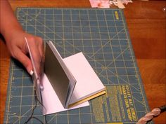 TUTORIAL for Tiny Junk Journal part 3 - Binding