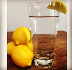 Water with lemon is my get up and go in the morning. Lemon is an alkaline-booster, liver cleaner, and stimulates sharp thinking and wakefulness. Lemons are also very high in bioflavinoids that destroy harmful free radicals, unstable oxygen molecules that damage blood vessels and cause inflammation.