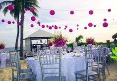 out door beach wedding | Beach Wedding Reception - Curacao Marriott Beach Resort & Emerald ...