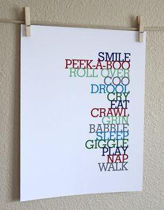 nursery word art