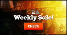 All Video Games Weekly sale up to 80% on Watch dogs 2  - Overwatch  - The withcher 3: wild hunt -  Dishoroned 2  - Call of duty infinity warfare - dying light - Tom Clancy's The Division and more games. best games with lower prices hurry up one day left!  https://www.g2a.com/r/cheapgs