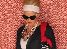 Tamera Beardsley: wardrobe. DIY statement necklace