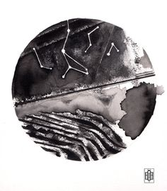 Iakovos Ouranos, Interstellar III, 2014  #art #drawing #pencil #ink #paper #iakovosouranos #iakovos #ouranos