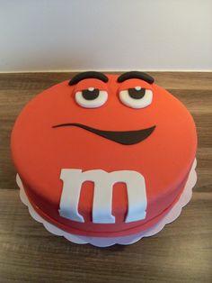 M&M taart / M&M cake