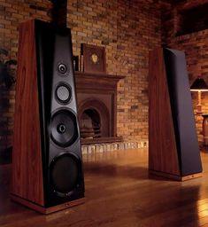 THIEL Speaker high quality sound records vinyl audio highend stereo hifi audiophile speakers amplifier a… Big Speakers, Monitor Speakers, Home Speakers, Built In Speakers, Bookshelf Speakers, Audiophile Speakers, Speaker Amplifier, Hifi Audio, Audio Design