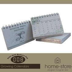 These stunning Growing Paper Calenders are the ideal gift for any mom. The combination of creativity and functionality is irresistible. Visit Home-Store for these and other gorgeous gift ideas for Mother's Day.