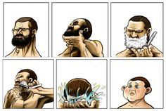 What happens when you shaved
